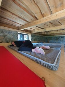 Cave Room - sleeping area