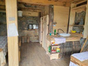 Cave Room - kitchen + ROCK BEER PUB